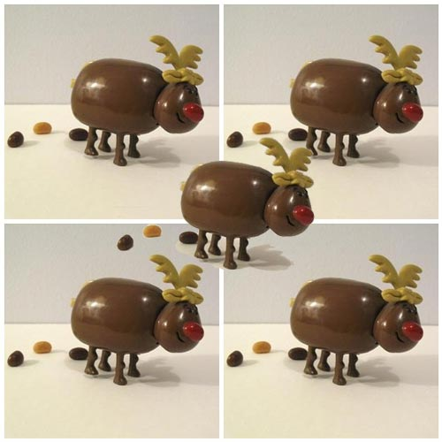 Five Pooping Reindeer