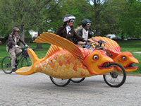 Astral Plane, an entry in the 2014 Kinetic Sculpture Race