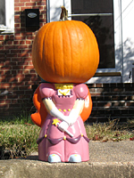 Faceless Pumpkin Princess