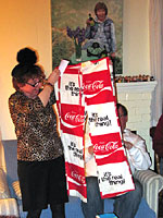 """It's the Real Thing! "" Coca Cola pants"