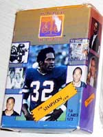 O.J. Simpson trial trading cards