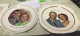 Presidential plates
