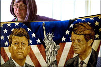 Two Kennedys tapestry