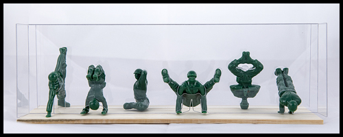 Advanced Yoga Army Men